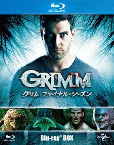 【新品】【ブルーレイ】GRIMM/グリム ファイナル・シーズン BD−BOX デヴィッド・ジュントーリ