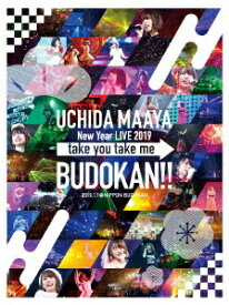 【新品】【DVD】UCHIDA MAAYA New Year LIVE 2019 take you take me BUDOKAN!! 2019.1.1@NIPPON BUDOKAN 内田真礼