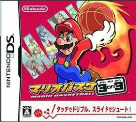 【中古】マリオバスケ 3on3 DS NTR-P-AB3J/ 中古 ゲーム