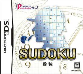 【中古】Puzzle Series Vol.3 SUDOKU 数独 DS NTR-P-ASQJ/ 中古 ゲーム