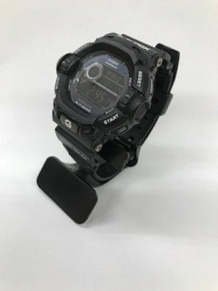 【中古】【ベルト一部切れ 】CASIO カシオ G-SHOCK REISEMAN GW-9200BWJ ブラック 電波ソーラー 腕時計【Cランク】【送料無料】