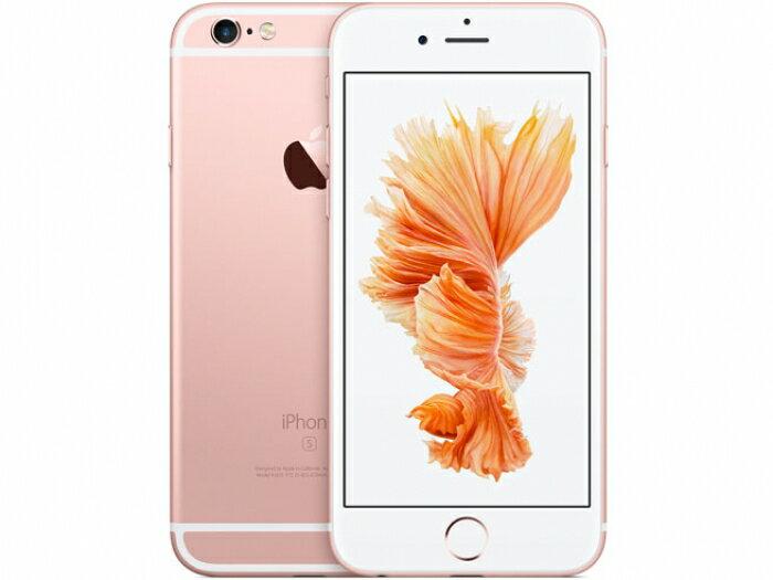 【中古】【白ロム】【SoftBank】iPhone6S 64GB ローズゴールド MKQR2 Ver11.1.2【Cランク】【○判定】【送料無料】