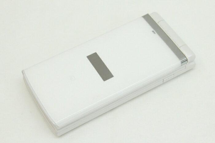 【中古】【白ロム】【au】K006[クリアホワイト]