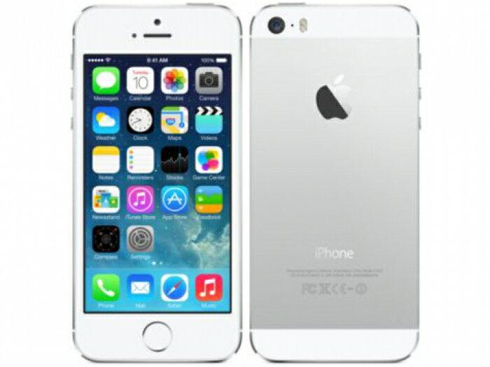 【中古】【白ロム】【SoftBank】iPhone5S 16GB[シルバー][未使用]【△判定】