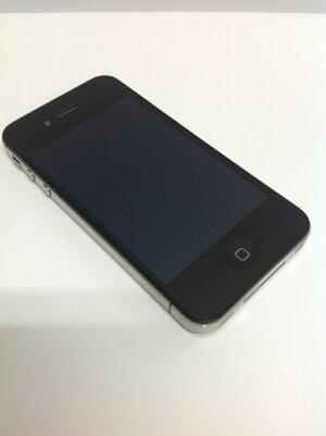 【au】APPLE≪iPhone4S64GB≫[ブラック][状態:B-1][1ヶ月保証]