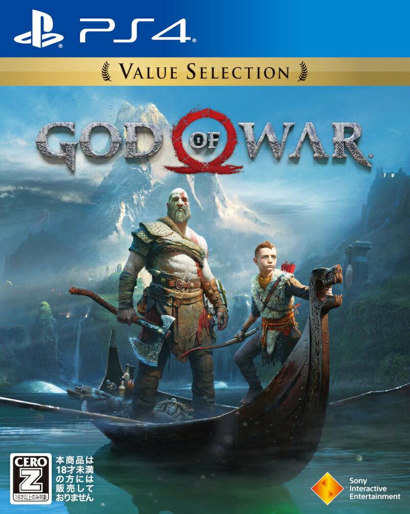 【新品】 ゴッド・オブ・ウォー Value Selection PS4 【CERO区分_Z】 / 新品 ゲーム