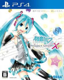 【新品】 初音ミク プロジェクトディーバ X HD PS4 PLJM-80097 / 新品 ゲーム