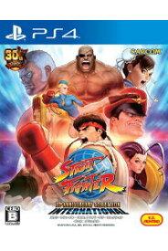 【中古】ストリートファイター 30th アニバーサリーコレクション インターナショナル PS4 PLJM-80264/ 中古 ゲーム