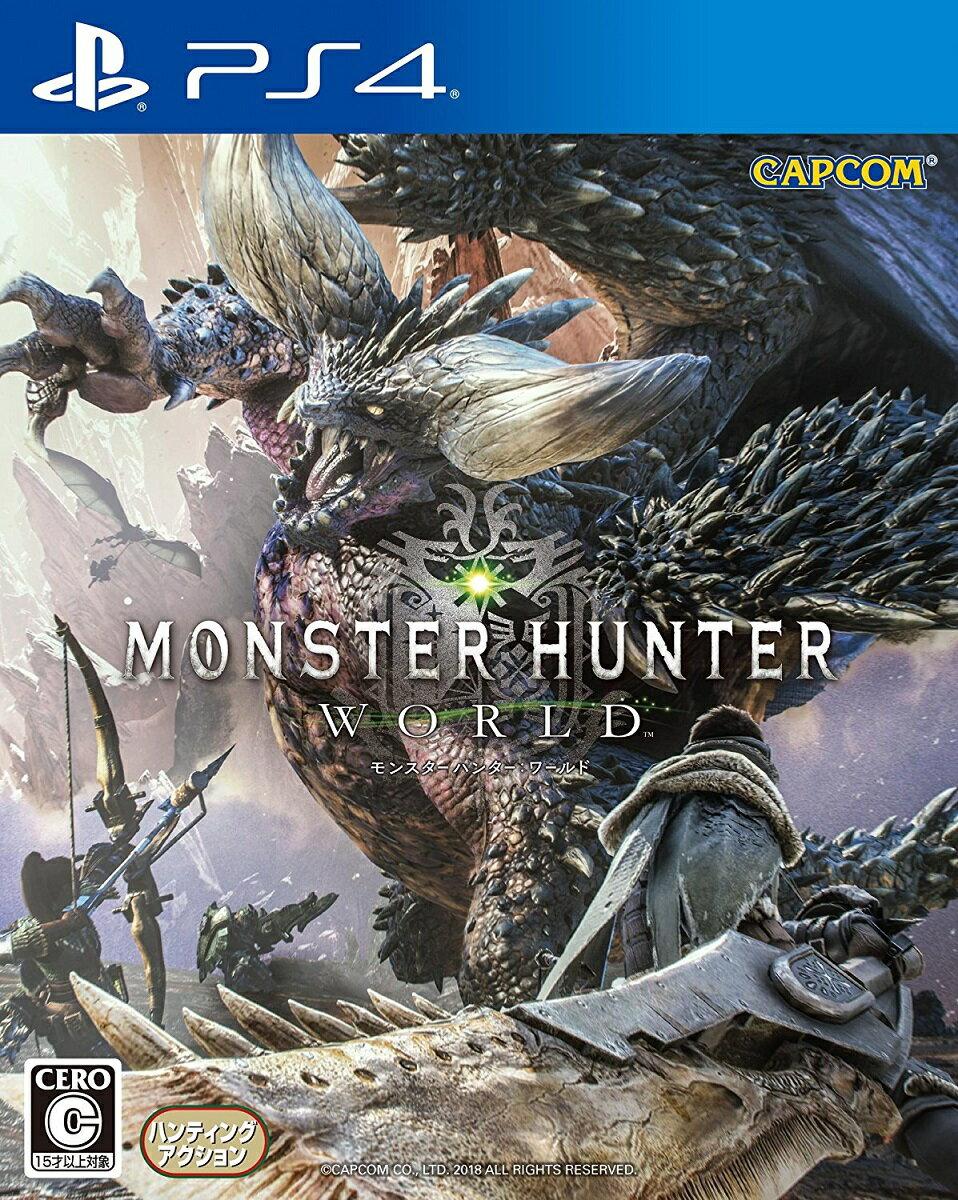 【中古】 モンスターハンター:ワールド PS4 PLJM-16110 / 中古 ゲーム