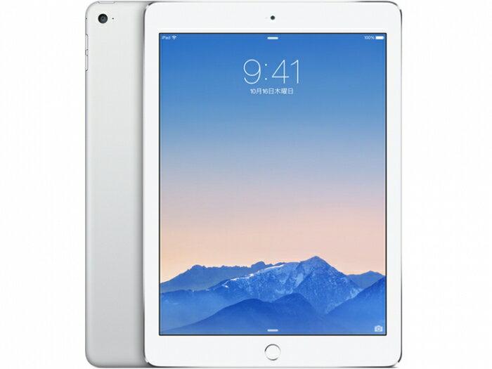 【中古】【白ロム】【au】iPad Air2 Wi-Fi+Cellular 64GB【〇判定】