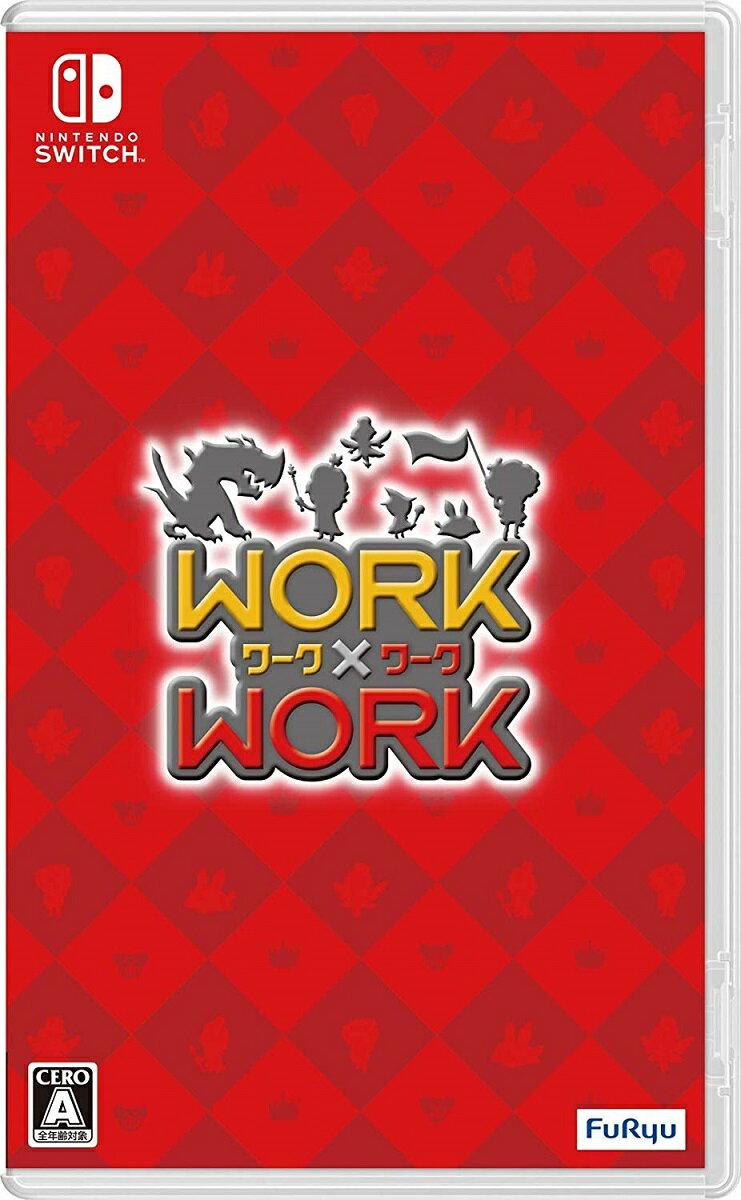【中古】 WORK×WORK Nintendo Switch HACP-AHNRA / 中古 ゲーム