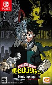 【中古】僕のヒーローアカデミア One's Justice Nintendo Switch ニンテンドースイッチ HAC-P-AL72A/ 中古 ゲーム
