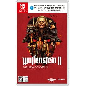 【新品】 Wolfenstein II: The New Colossus Nintendo Switch 【CERO区分_Z】 HAC-P-AMKMB / 新品 ゲーム