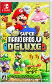 【中古】New スーパーマリオブラザーズ U デラックス Nintendo Switch ニンテンドースイッチ HAC-P-ADALA/ 中古 ゲーム