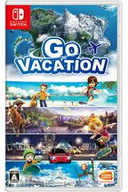 【中古】GO VACATION Nintendo Switch ニンテンドースイッチ HAC-P-AF2GC/ 中古 ゲーム