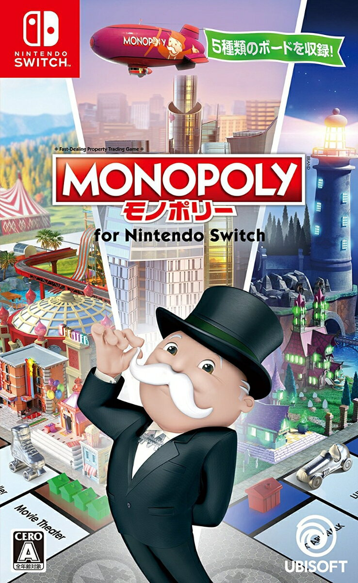 【中古】モノポリー for Nintendo Switch Nintendo Switch HAC-P-ADQPA/ 中古 ゲーム