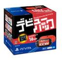 PlayStation Vita デビューパック Wi-Fiモデル(PCH-2000シリーズ) レッド/ブラック 【PSVita】【本体】【中古】【中古ゲーム】