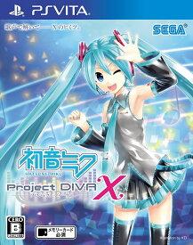 【新品】 初音ミク Project DIVA X PSVita VLJM-35264 / 新品 ゲーム