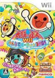 【中古】太鼓の達人 Wii みんなでパーティ☆3代目 単品版 Wii RVL-P-S3TJ/ 中古 ゲーム