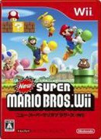 【中古】New スーパーマリオブラザーズ Wii RVL-P-SMNJ/ 中古 ゲーム
