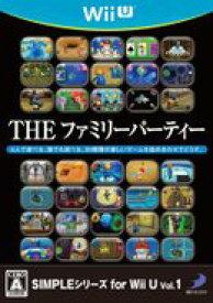 【中古】SIMPLEシリーズ for Wii U vol.1 THE ファミリーパーティー WiiU WUP-P-AFPJ/ 中古 ゲーム