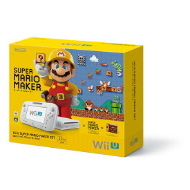 【中古】WiiU 本体 スーパーマリオメーカー セット WUP-S-WAHA/ 中古 ゲーム