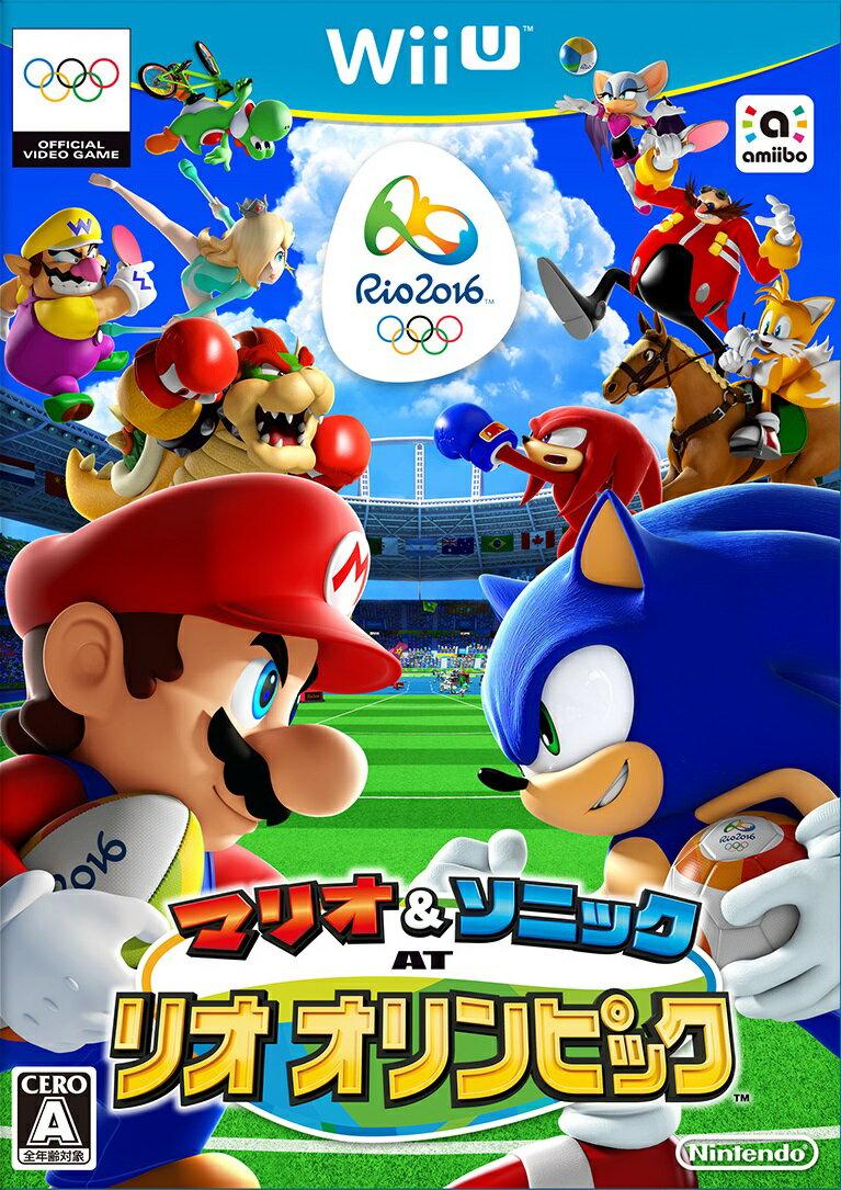 【中古】マリオ&ソニック AT リオオリンピック WiiU WUP-P-ABJJ / 中古 ゲーム