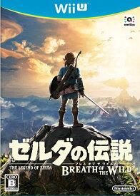 【中古】ゼルダの伝説 ブレス オブ ザ ワイルド WiiU WUP-P-ALZJ/ 中古 ゲーム