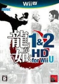 【中古】龍が如く 1&2 HD for Wii U WiiU WUP-P-ARYJ/ 中古 ゲーム