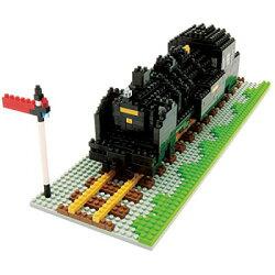 ナノブロック蒸気機関車