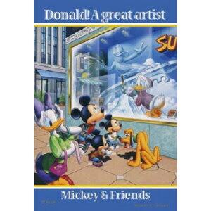 ジグソーパズルプチ 204ピース ディズニー 偉大なるアーティスト ドナルド編 98-443