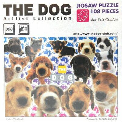 108ピース THE DOG アートリストコレクション 小さなオールスター T-108-426