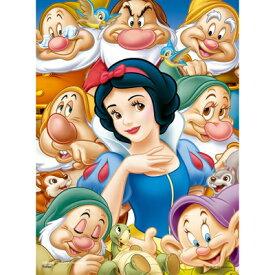 244ピース ジグソーパズル クリアスタンドパズル 白雪姫と七人のこびと