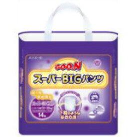 グーン スーパーBIG パンツ 14枚入 4902011743081 【取寄商品】