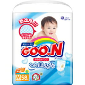 グーン やわらかパンツ Mサイズ 58枚入 4902011850642 【取寄商品】