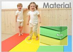 プレイマット5段防音マットジョイントマットベビーマットフロアマット赤ちゃんマットキッズマットベビークッションマット北欧子供部屋安心極厚4cmジャンピングマット5段foldawayf32