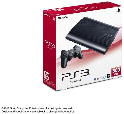 【新品】 PlayStation 3 500GB チャコール・ブラック (CECH-4000C)