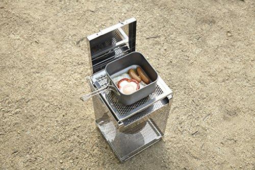 【新品】ロゴス調理もできるあったかストーブ暖房調理器具チャコグリルストーブ81064116