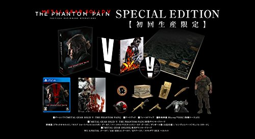 【新品】 メタルギアソリッドV ファントムペイン SPECIAL EDITION - PS4