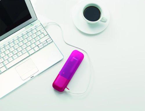 【新品】 オムロン 音波電動歯ブラシ メディクリーンPORTABLE ピンク HT-B601-PK