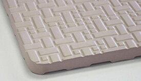 【新品】 東和産業 お風呂マット 薄型 ラバーマット グレー 85×60cm