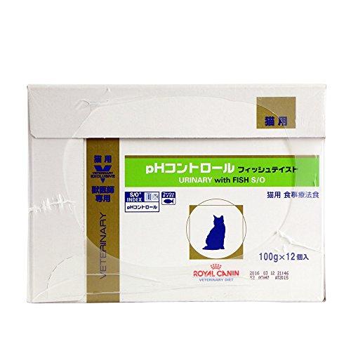 【新品】ロイヤルカナン療法食猫PHコントロールフィッシュテイストパウチ100g×24個