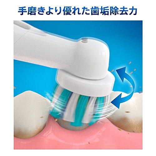 【新品】 ブラウン オーラルB 電動歯ブラシ すみずみクリーンEX 1モードタイプ D12013AE