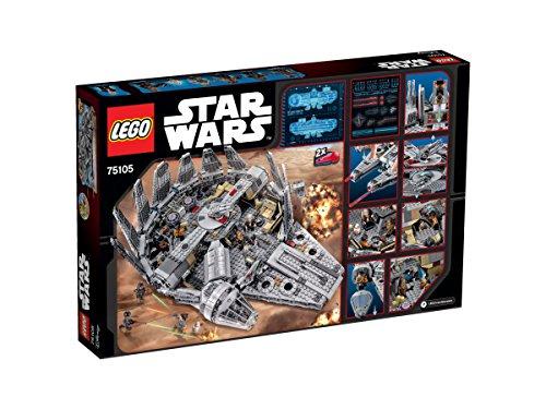 【新品】 レゴ (LEGO) スター・ウォーズ ミレニアム・ファルコン[TM] 75105