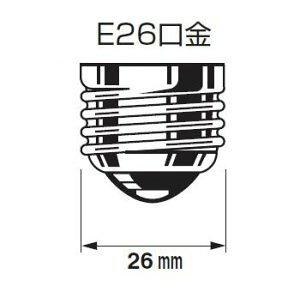 クリア電球 L100V100W