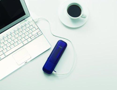 【新品】 オムロン 音波電動歯ブラシ メディクリーンPORTABLE ブルー HT-B601-B