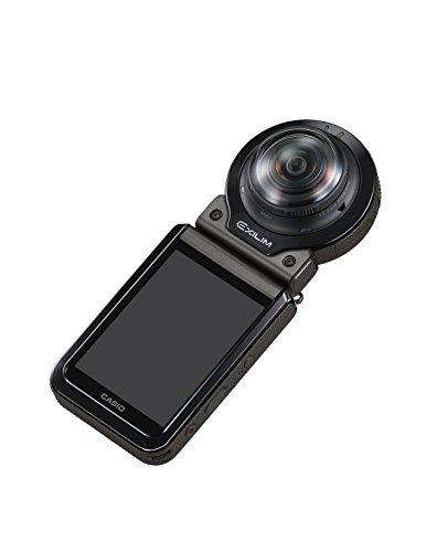 【新品】 CASIO デジタルカメラ EXILIM EX-FR200BK カメラ部+モニター(コントローラー)部セット アウトドアレコーダー EXFR200 ブラック