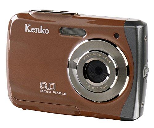 【新品】 Kenko デジタルカメラ DSC180WP IPX8相当防水 800万画素 乾電池タイプ 862346