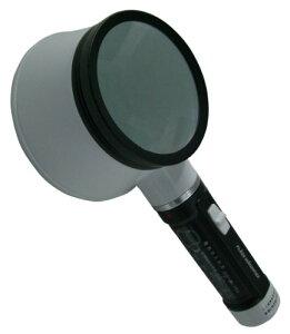 【新品】 TSK 手持ちルーペ 倍率2倍 レンズ径75mm ライト付き DO-320