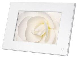 【新品】 ソニー SONY デジタルフォトフレーム S-Frame E73 7.0型 内蔵メモリー128MB ホワイト DPF-E73/W